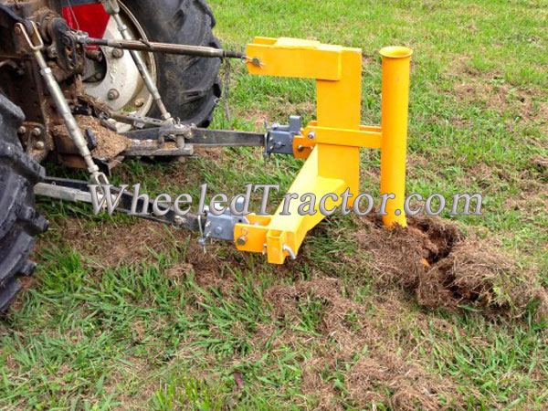 3 Point Hitch Ripper : Pt ripper with pipelayer point hitch tractor pipper