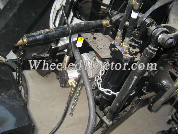 Tractor Pto Gearbox : Tractor backhoe attachment with pto hydraulic pump