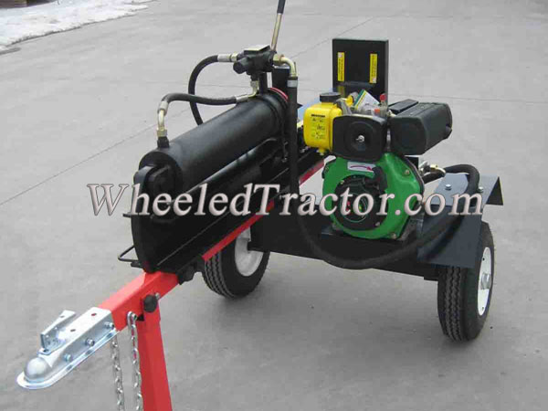 37 Ton Log Splitter, With Hydraulic Arms,CE Certified